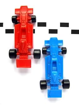 Samochód wyścigowy formuły 1 f1