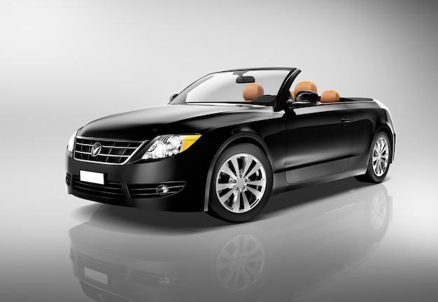 Samochodowy pojazdu transportu 3d ilustraci pojęcie