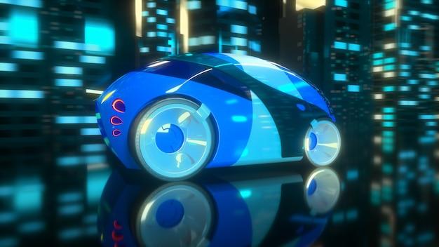 Samochodowy pojęcie - 3d ilustracja