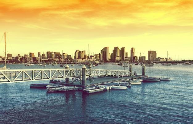 San diego zachód słońca