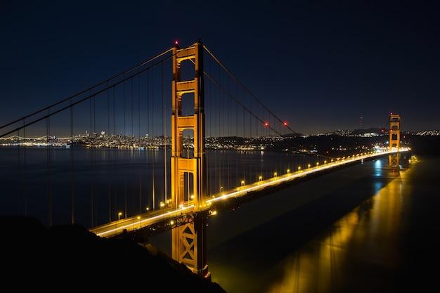 San francisco golden gate bridge w blue hour