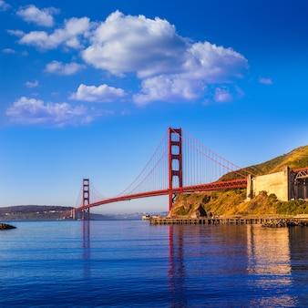 San francisco golden gate bridge w kalifornii