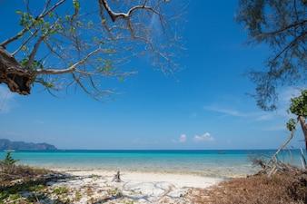 Sand Beach in Poda Island