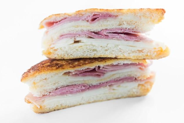 Sandwich monte cristo malina widok z przodu