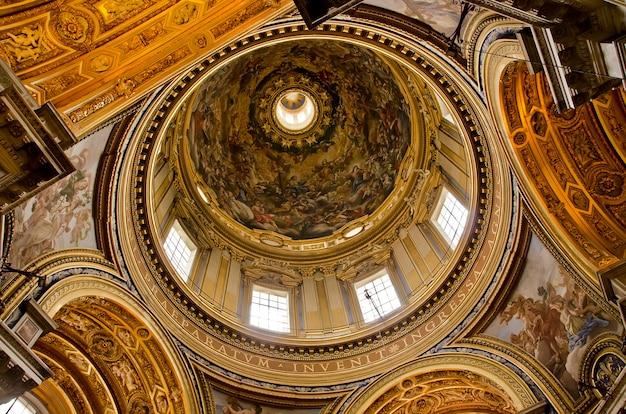 Sant'agnese in agone w rzymie we włoszech