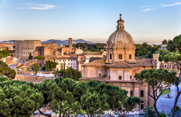 Santi luca e martina, kościół katolicki na forum romanum