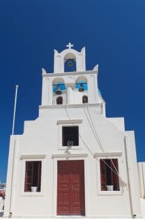 Santorini kościół