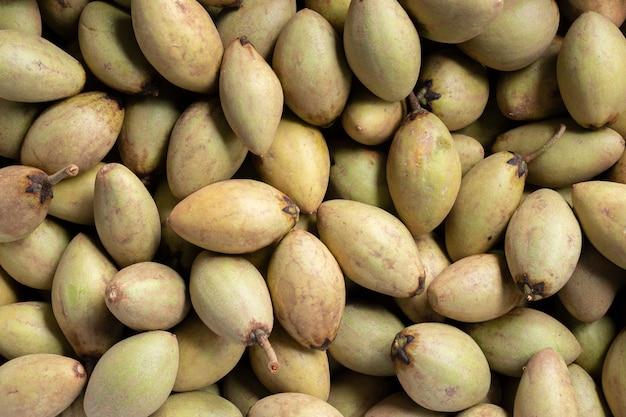 Sapodilla zbiorów owoców rolnictwo surowiec żywności