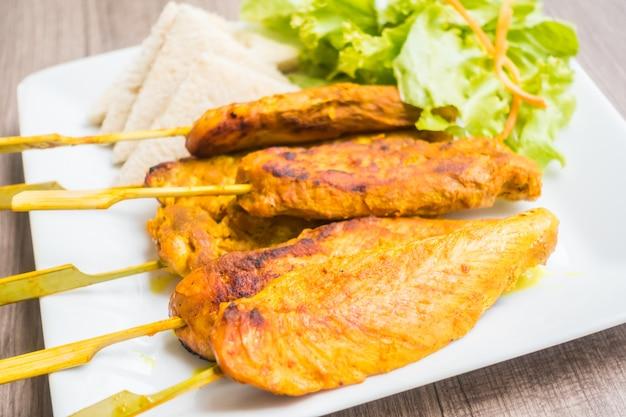 Satay z kurczaka