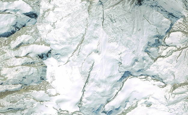 Satelitarny widok z góry tekstury nad szwajcarią