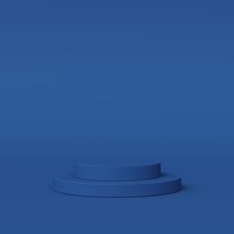 Scena abstrakcyjna do wyświetlenia. renderowanie 3d