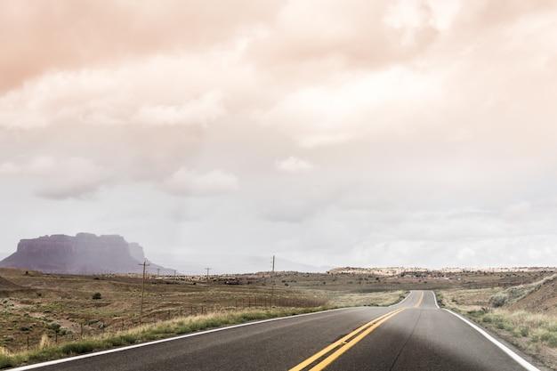 Scena na autostradzie