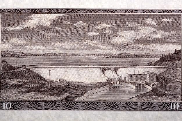 Scena orawska z czechosłowackich pieniędzy
