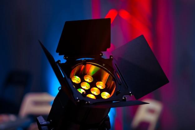 Scena zbliżenie źródła światła