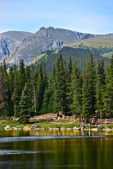 Sceniczny colorado echo lake