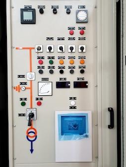 Schemat elektryczny jednoliniowy na panelu mimic podajnik transformatora 115kv