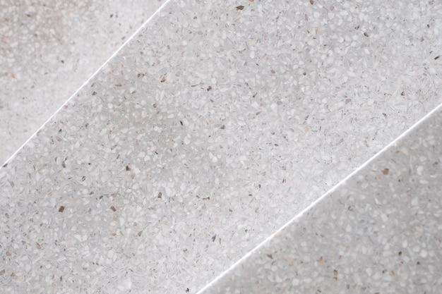 Schody terrazzo polerowane kamienne przejście i podłoga, wzór i kolor powierzchni marmuru i granitu