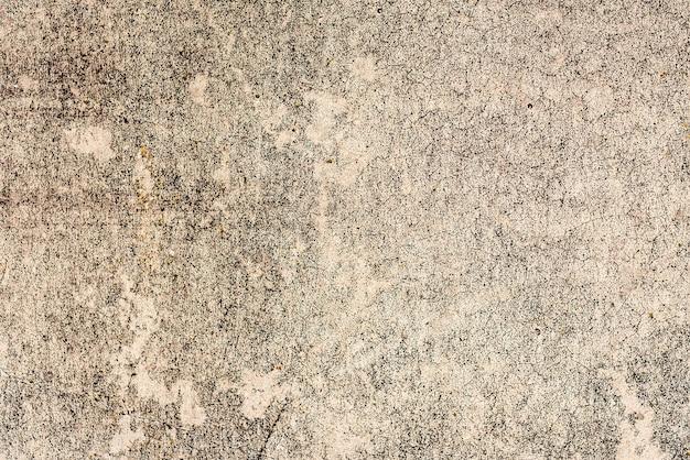 Ściana betonowa tekstura tło. fragment ściany z rysami i pęknięciami