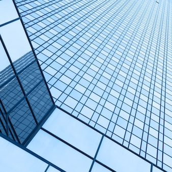 Ściana biurowca - tło architektoniczne