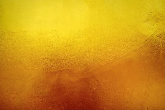 Ściana bruzda żółtego złota