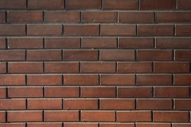 Ściana ciemnych cegieł