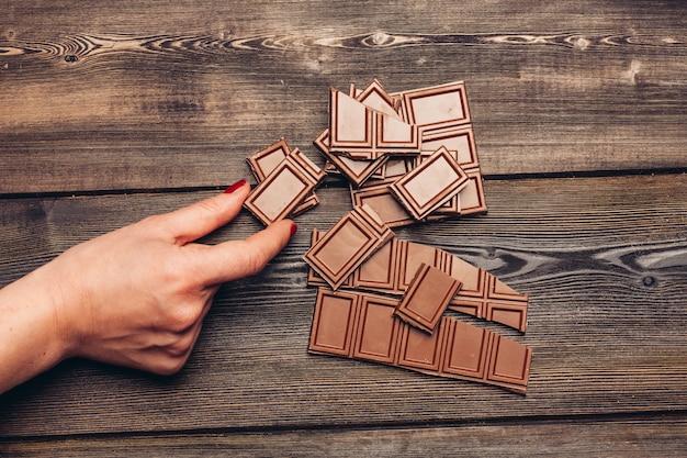 Ściana czekolady