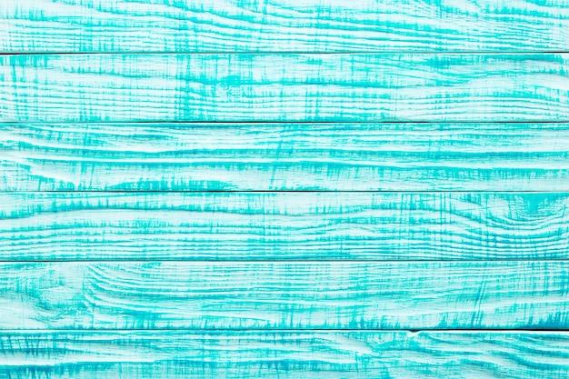 Ściana drewniana, malowana powierzchnia z niebieskich desek. antyczne tekstury dla projektu