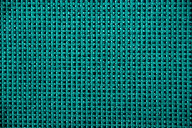 Ściana tekstylna w zieloną kratkę