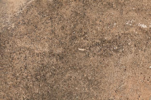 Ściana z brązowego tynku. tło powierzchni sztukaterie. grunge porysowany betonowy panel