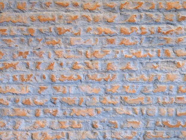 Ściana z cegieł rocznika tło.
