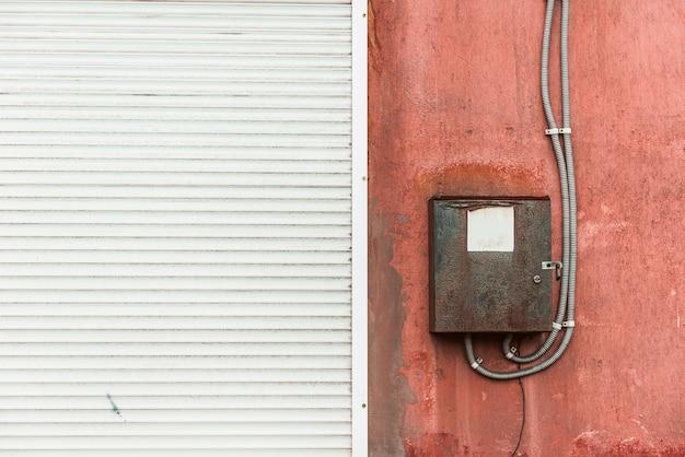 Ściana z ekranem elektrycznym