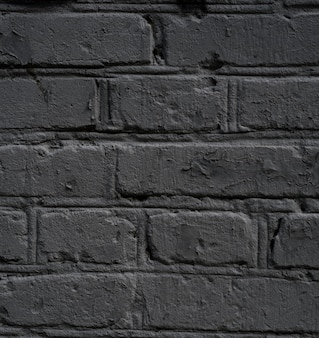 Ściana z szarej cegły lub betonowa ściana. cegła tekstura, piękne szare tło