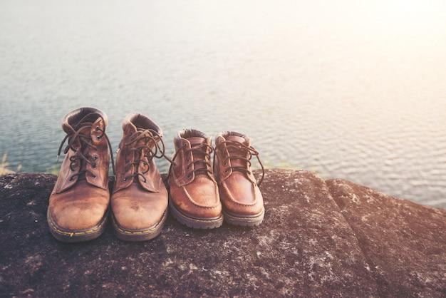 Ścieżka wędrować podróż stopa sprężynę