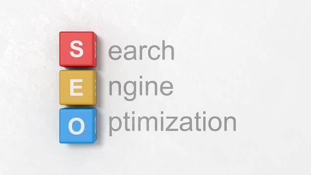 Search engine optimization, ilustracja koncepcja seo