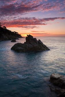 Seascape na costa brava