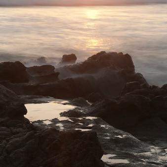 Seascape u wybrzeży kostaryki