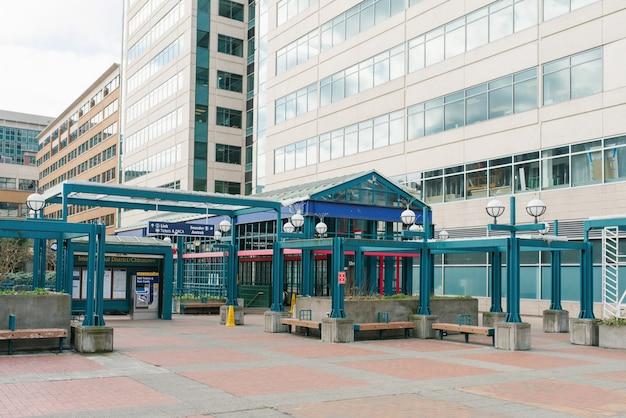 Seattle, waszyngton, usa. dworzec centralny
