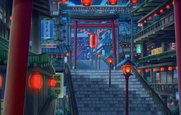 Secret town - night