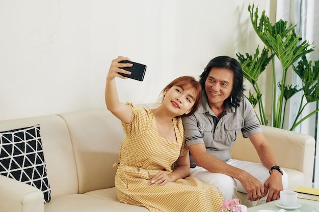 Selfie z ojcem