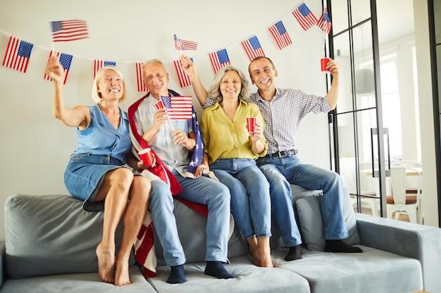 Senior american citizens