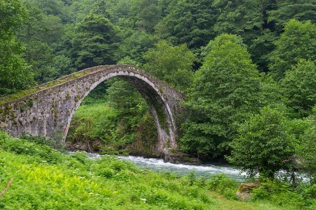 Senyuva most nad rzeką firtina w północnej turcji