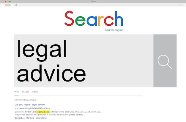 Seo search word connection koncepcja internetowa