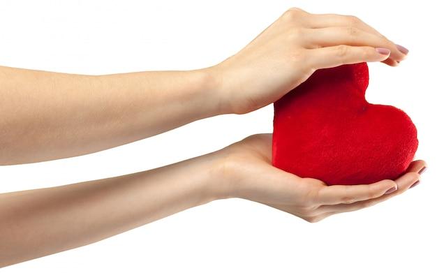 Serce w ręku
