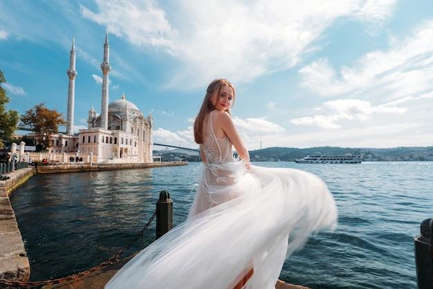 Sesja ślubna panny młodej w stambule