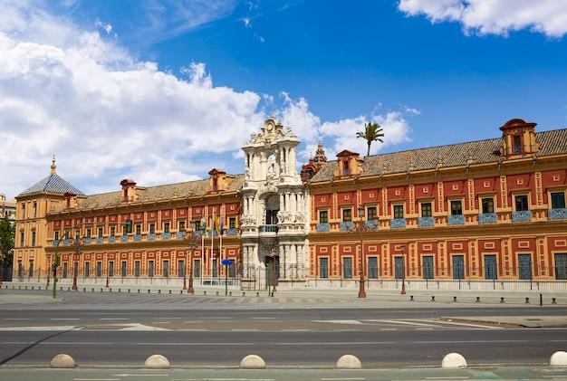 Seville palacio san telmo w andalusia spain