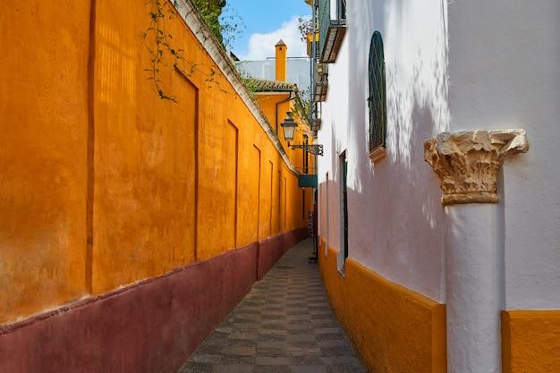 Sewilla juderia barrio andaluzja sewilla hiszpania
