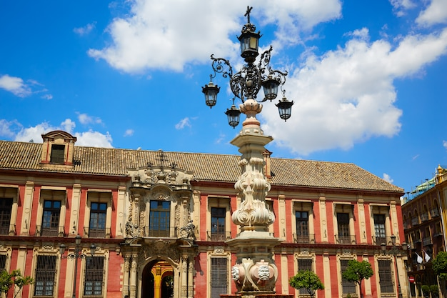 Sewilla palacio arzobispal z sewilli andaluzja