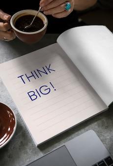 Sformułowanie duży pomysł na książkę