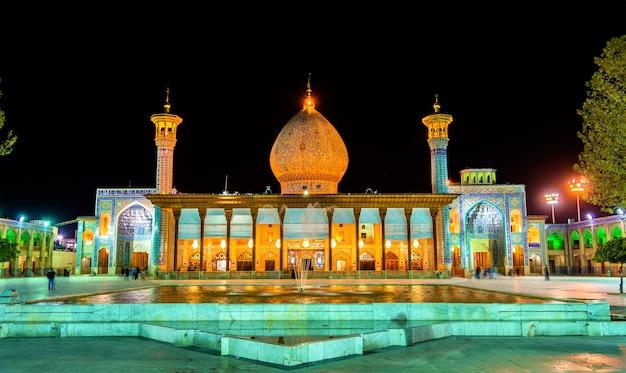 Shah cheragh, pomnik grobowy i meczet w shiraz - iran