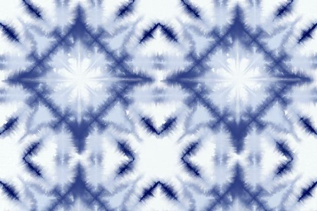 Shibori wzór tła barwnika krawat
